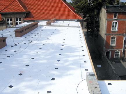 Dachy Plaskie