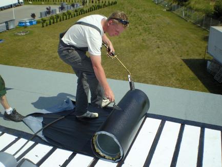 Styropian na dach z papą